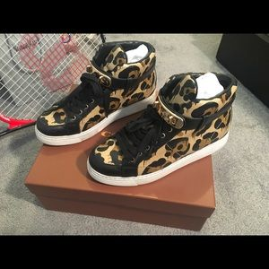 Coach Richmond Wild Beast Leather sneaker